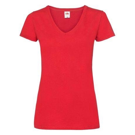 T-shirt damski w szpic Fruit of the Loom rozmiar XXL