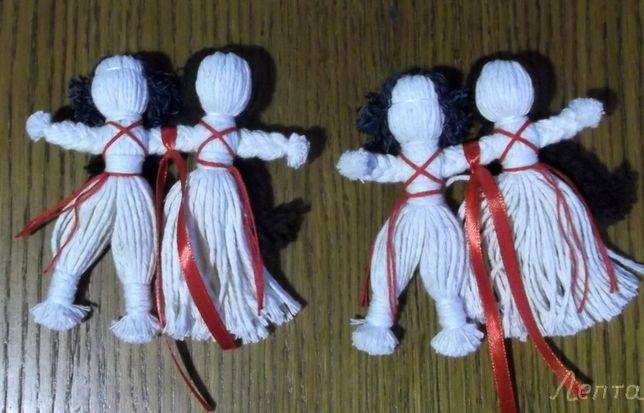 "Кукла мотанка ""Неразлучники"". Подарок на свадьбу, юбилей. Сувенир."