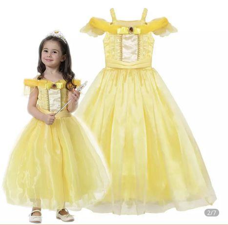 Princesa vestido para 4 a 5 anos (novo)
