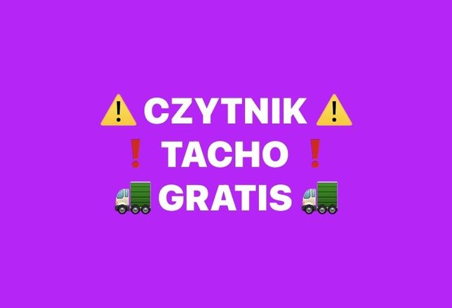 ‼️ Czytnik Tacho ‼️ → Rozliczanie Czasu Pracy Kierowców