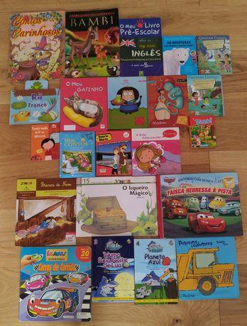Livros infantis 1 euro