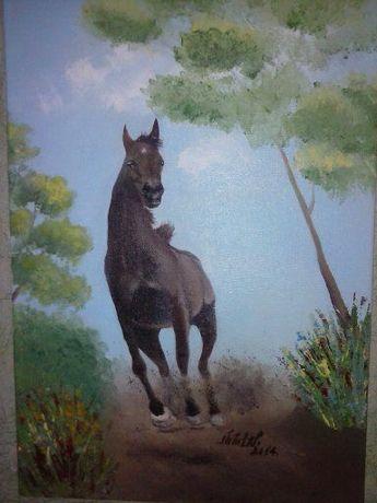 Супер картина для любителей лошадей и ценителей творчести...