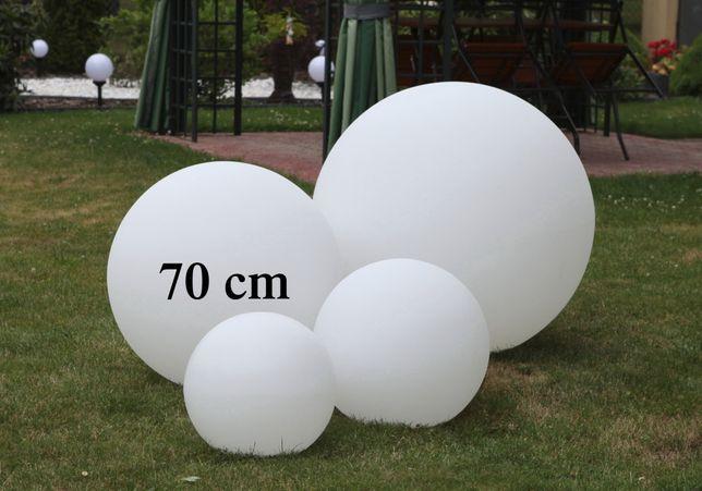 Mega-Kula lampa ogrodowa 70cm LED 9W Made in Italy