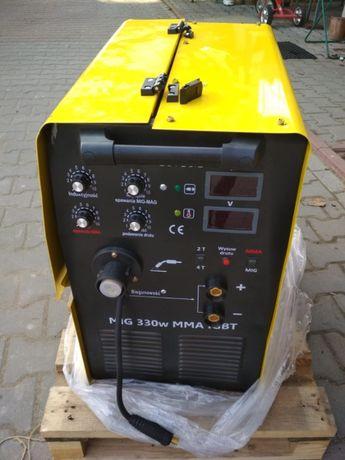 MAGNUM MIG 330W 4X4 profesjonalny inwerterowy półautomat NOWY