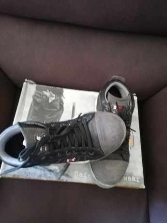 Sapato bota de segurança
