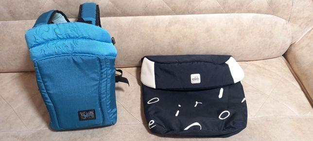 Рюкзак-сумка кенгурёнок Zaffiro + накидка для коляски Cam