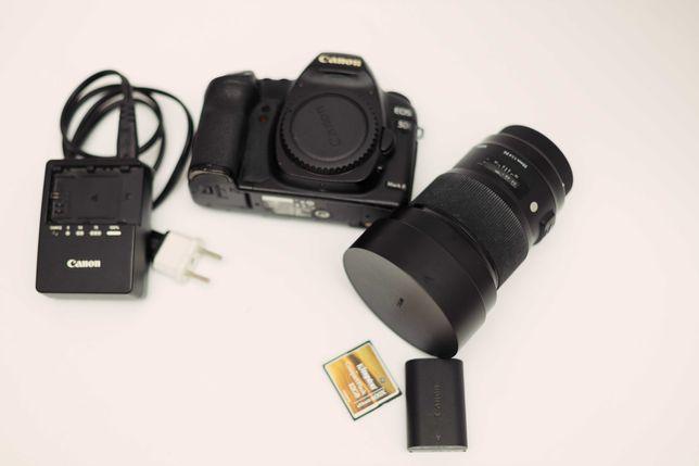 Canon Mark II + Sigma 20mm 1.4
