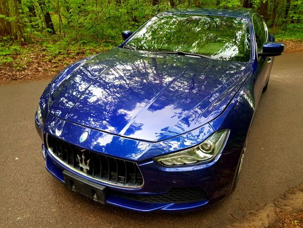 Maserati Ghibli 2014 rok 410 koni 3.0 v6 Zamiana