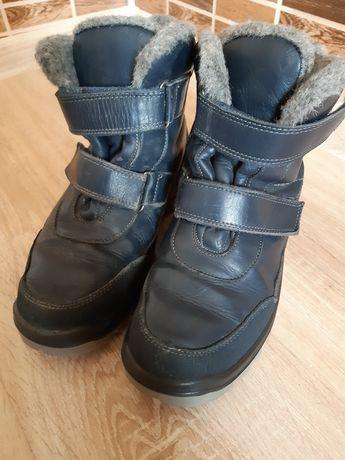 Ботинки сапоги Kotofey кожа