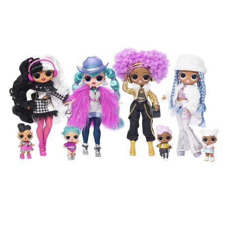 LOL Surprise OMG Winter Disco Лол ОМГ зимнее диско большие куклы