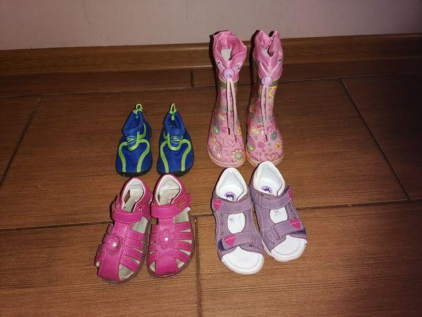 Buty dla dziewczynki rozmiar 21