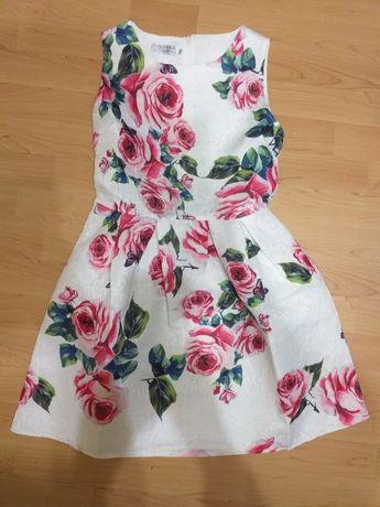 Sukienka w kwiaty rozm s