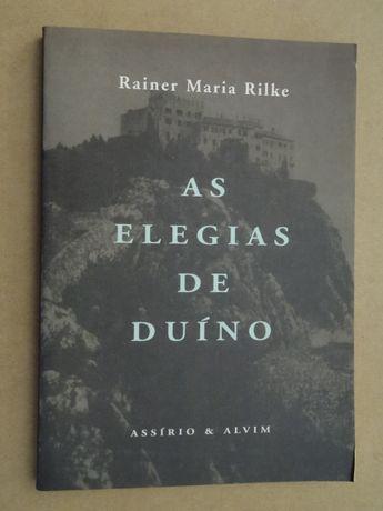 Rainer Maria Rilke - Vários Livros