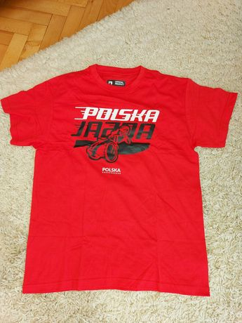 Nowa koszulka, t-shirt, żużel Polska