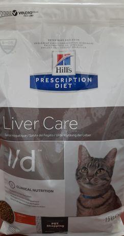Корм для котів Hills Liver Care l/d
