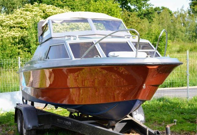 łódka wędkarska kabinowa , mercruiser 3.0