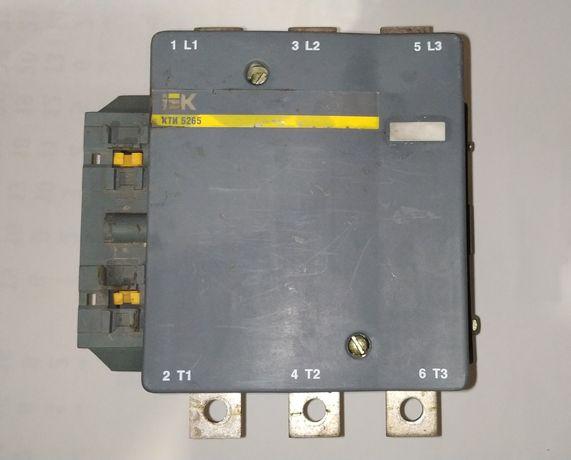 Контактор КТИ-5265 265А 400В/АС3 IEK