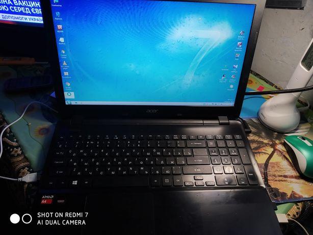 Продам ноутбук acer e5 521g 4 ядра