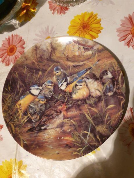 Hutschenreuther Porzellan Sammel-/Wandteller/Monatsteller,Ole Winther,