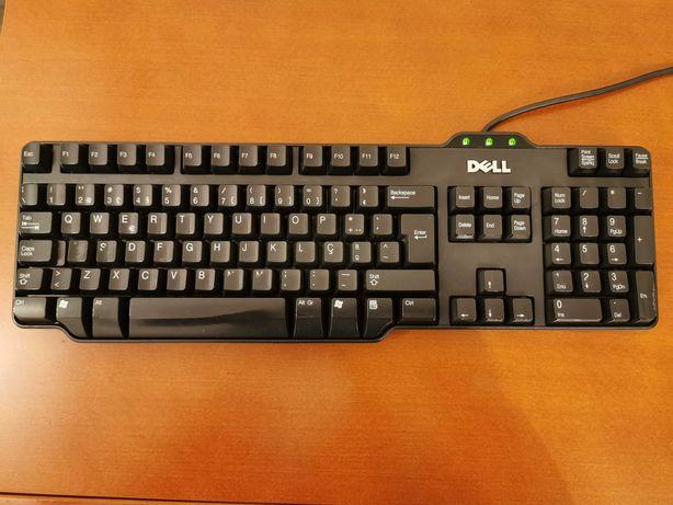 Teclado Dell Rt7d50 sem apoios - Ligação USB