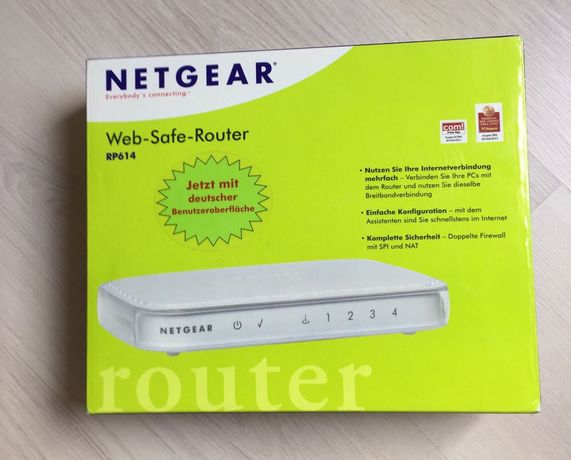 Новый роутер Netgear