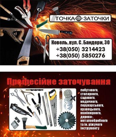 Професійна Заточка ріжучого інструменту - заточування і відновлення