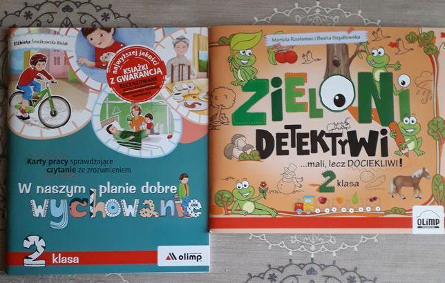 Książeczki wspomagające naukę polskiego klasa 2