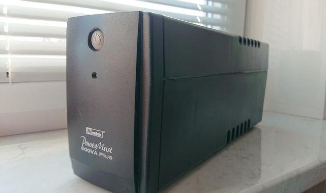 Блок бесперебойного питания ИБП Mustek PowerMust 600VA Plus
