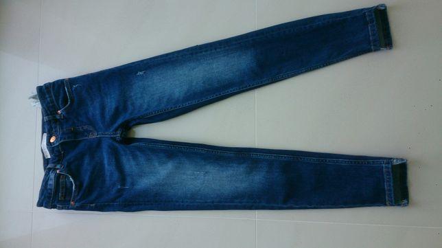 Spodnie zara 34