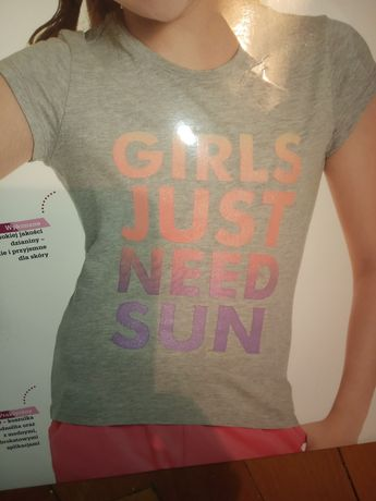 Nowe koszulki dziewczęce i chłopięce