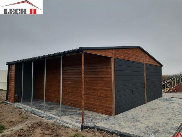 PROMOCJA Garaż Garaże Drewnopodobny Ocynkowany z Profila