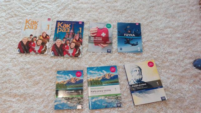 Podręczniki do I klasy Liceum