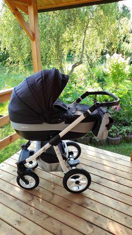 Wózek dziecięcy 3w1 Riko Nano. Gondola, nosidełko/fotelik, spacerówka.