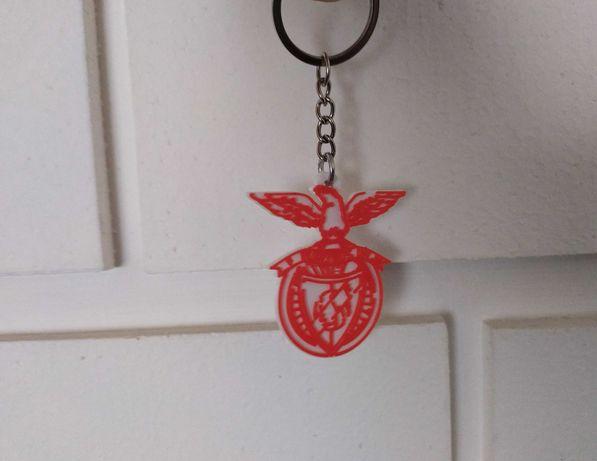 Porta chaves do SL.BENFICA em 3D