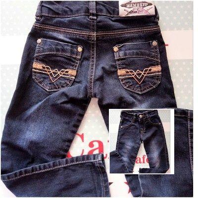 Отличные турецкие джинсики для девочки 3-4 года (р. 98-104)