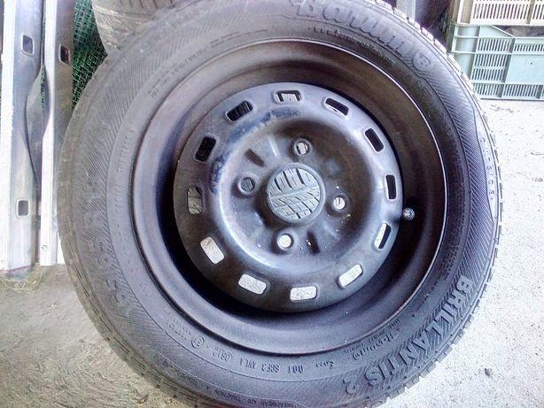 Komplet kół Daewoo Matiz (z oponami letnimi), 165/65 R13 77T