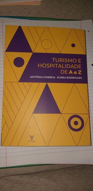 Livro Turismo e Hospitalidade de A a Z