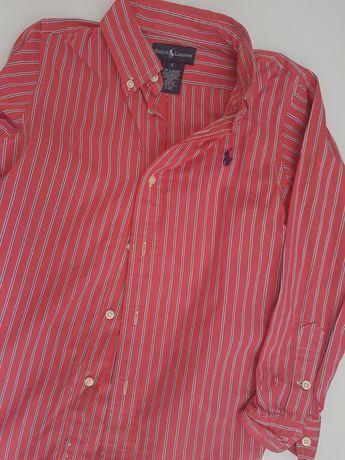 Camisas ralph Lauren  e Saccor 6/7 anos ( As duas com portes)