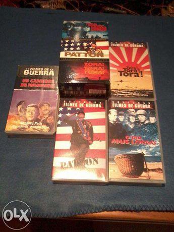 Filmes de Culto de Guerra - VHS