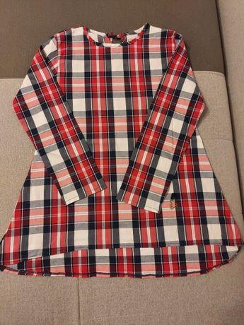 Śliczna bluzka koszulowa 152 cm - polski producent