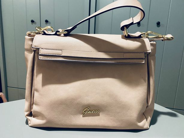 Piękna skórzana torebka GUESS