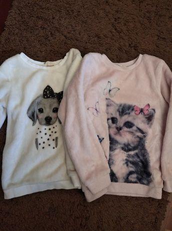 Свитшот свитер меховушка H&M