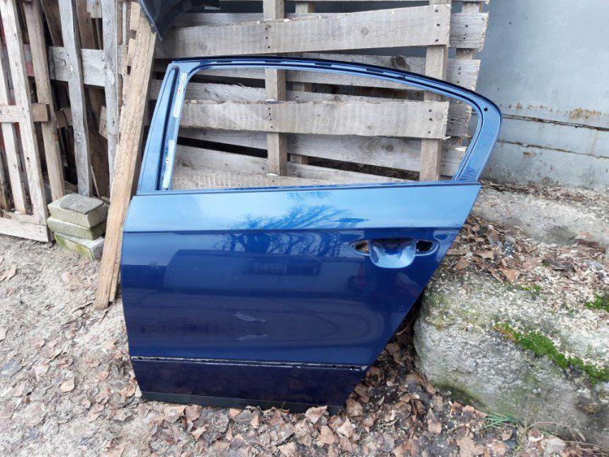 Двері задні ліві седан VW Passat B6 колір LD5Q Киев - изображение 1