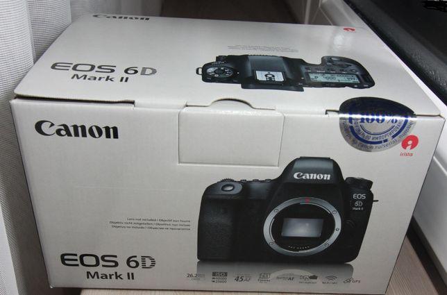 Коробка от фотоаппарата Canon EOS 6D Mark 2