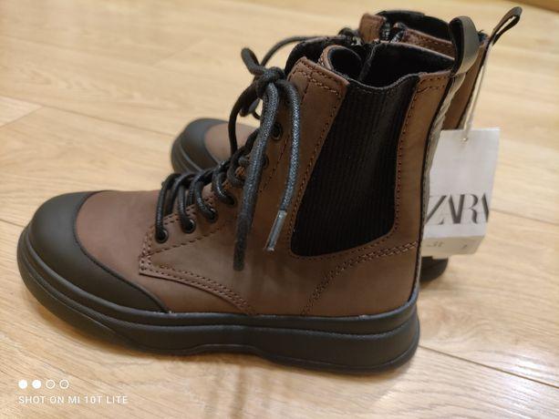 Ботинки черевики ZARA,35р.