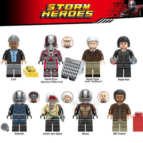Coleção Bonecos / Minifiguras Super Heróis nº129 - compativeis c/ Lego