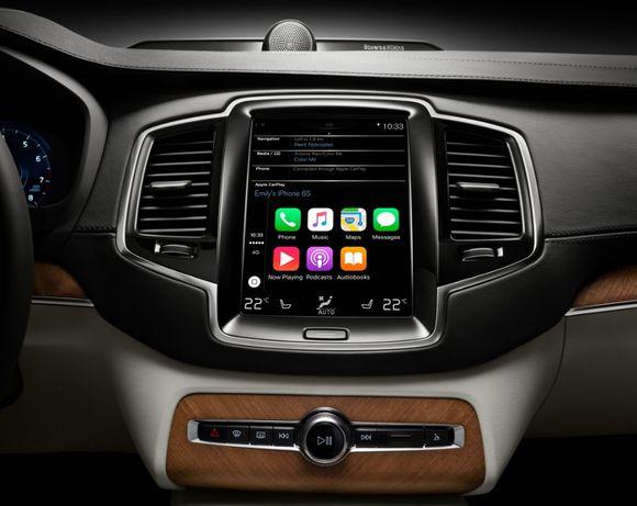 Android Auto Apple CarPlay Volvo XC90 XC60 S90 V90 XC4- S60 V60