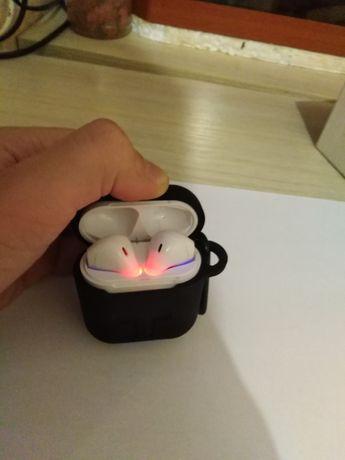 Наушники Apple Airnots i9s White+чехол
