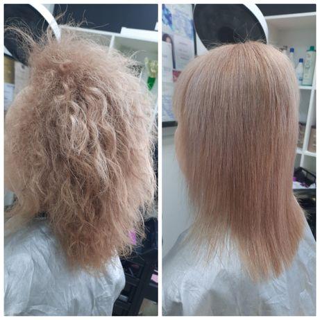 Кератиновое выпрямления,  ботокс,  наращивание волос