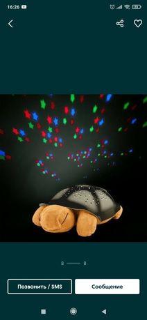 Музыкальный проектор черепаха